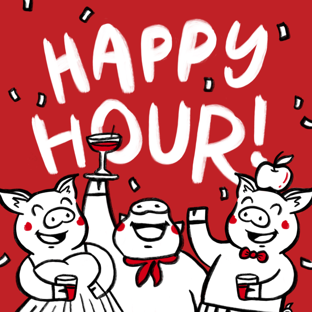 HAPPY HOUR! - Apple Samgyupsal - Soju! Makgeolli! Cocktails! Beers! Happy Hour every day! Come for the food, stay for the booze. Open till late, Taman Desa till 2.00am. Jaya One and Puchong till 12.00am.