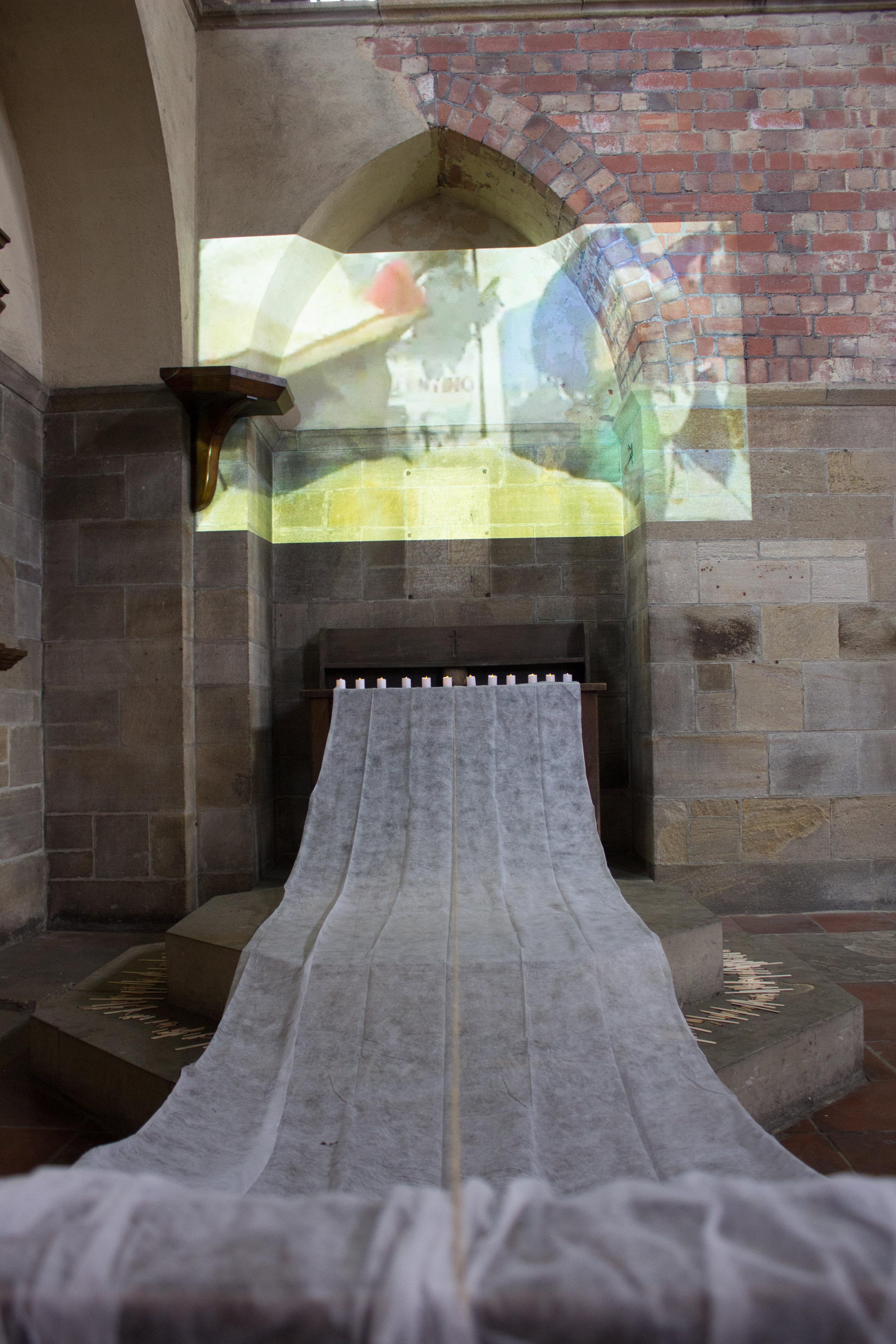 malay/taos/rp/pi (2017) installation at Left Bank Leeds