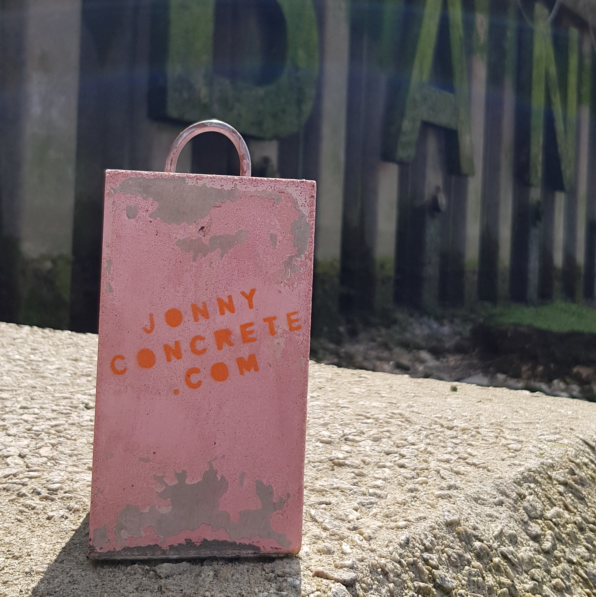 We've joined up with Jonny Concrete, who makes awesome concrete furniture, and produces these superb doorstops with his spare material - so no waste, which we LOVE. What we also love is that he then hides them around London for people to find, with a few pointers along the way. Keen to join in the fun, we have taken 1 each and will be turning them into unique pieces of art for you to find. We will be giving out clues nearer the time.   http://jonnyconcrete.com