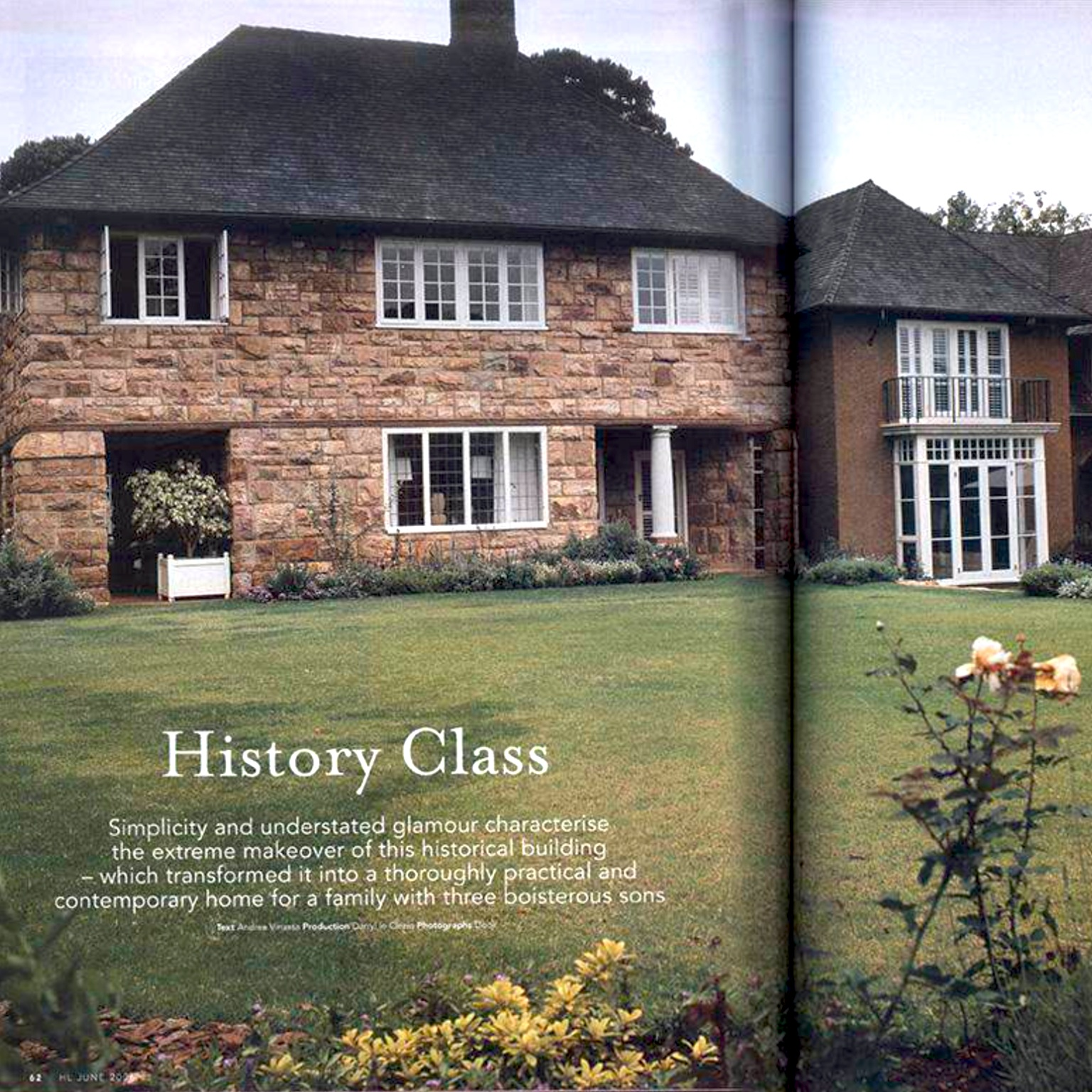 House of the month. House and Leisure.