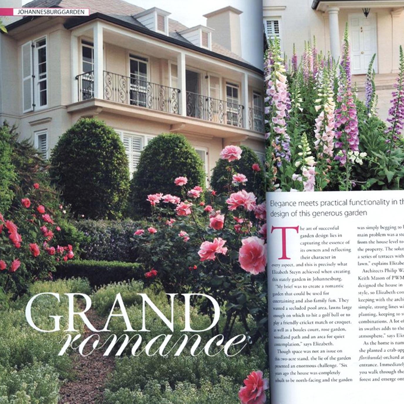 Garden feature. House & Garden
