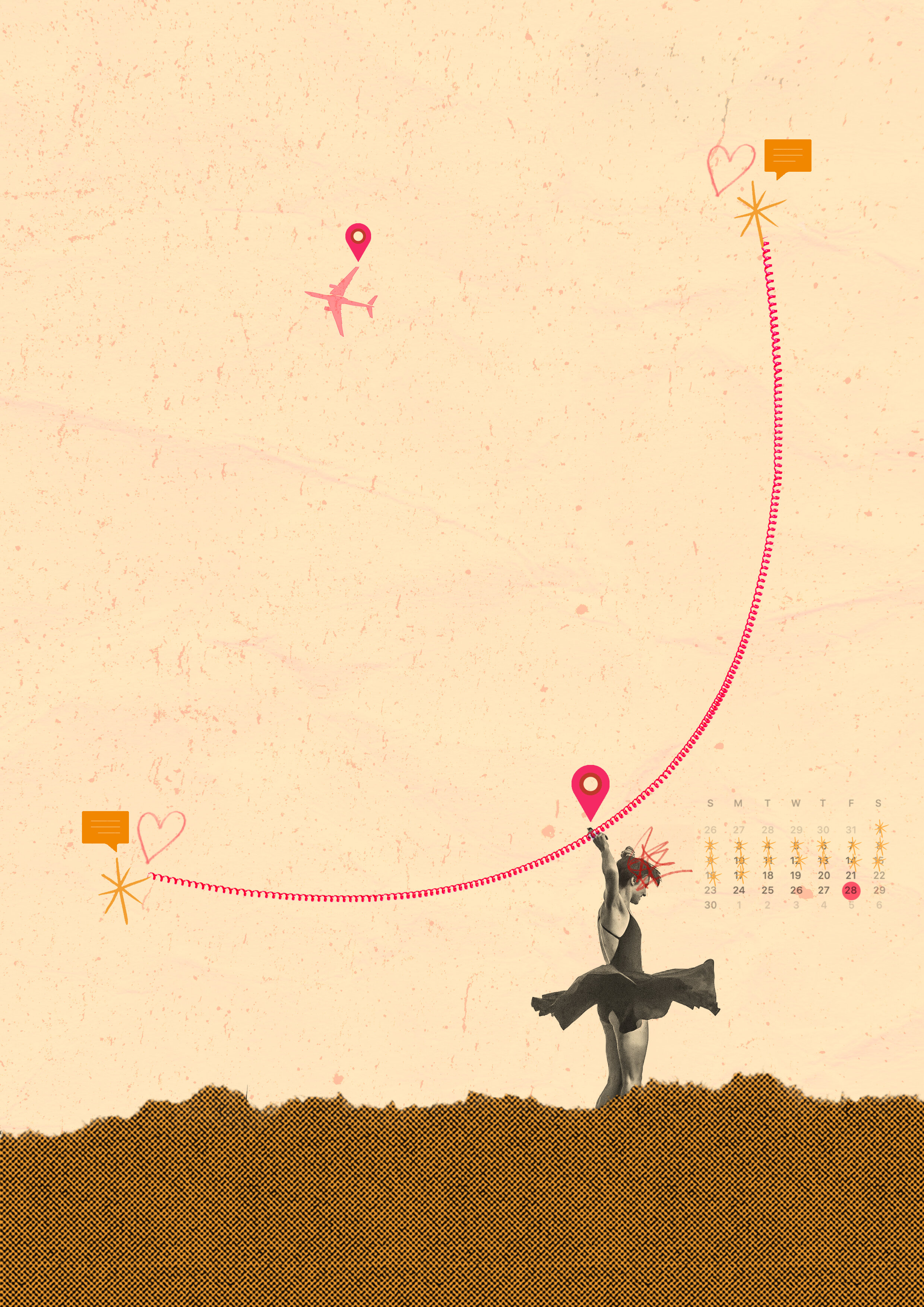 Thriving In a Long Distance Relationship When You're a Natural Worrier —  The Insecure Girls' Club