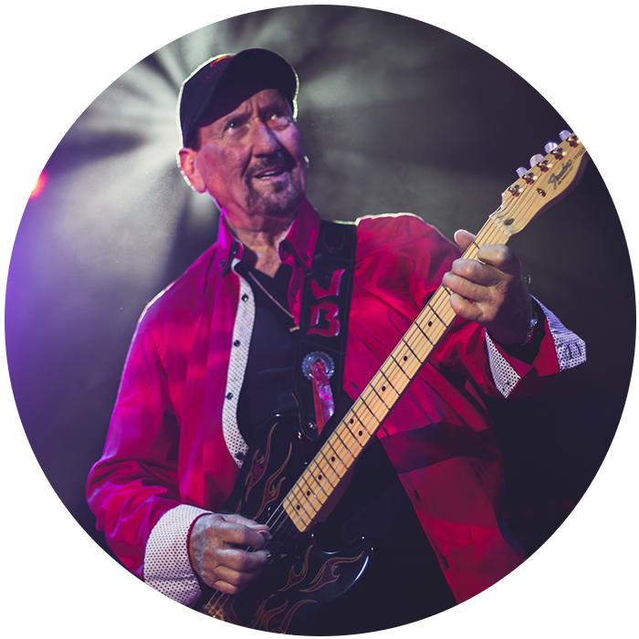 """James Burton - The musician, who was born in Shreveport/Lousiana is known as the biggest guitar icon of the American music scene besides Eric Clapton. Burton has played throughout his 65 years of carreer with numerous stars of showbiz. As: Frank Sinatra, Dean Martin, Roy Orbison, Johnny Cash, Tina Turner, Jerry Lee Lewis and Ricky Nelson. Nowadays the role model of generations calls attention with his """"International Guitar Festival"""", that Burton is organizing year after year in his hometown Shreveport."""