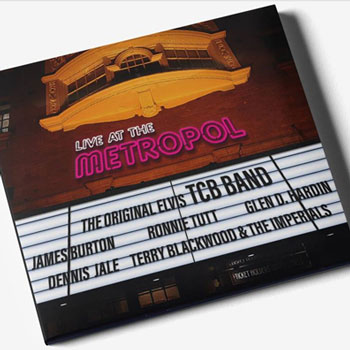 Live At The Metropol - 1. This Train2. See See Rider3. I Got A Woman4. You Gave Me A Mountain5. Mystery Train6. Guitar Man7. My Boy8. American Trilogy9. Steamroller Blues10. Johnny B. Goode11. Don't Cry Daddy12. Polk Salad Annie13. I'll Remember You14. Sweet Spirit15. How Great Thou Art