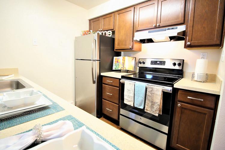 benson-village-apartments-kitchen-stove-fridge.jpg