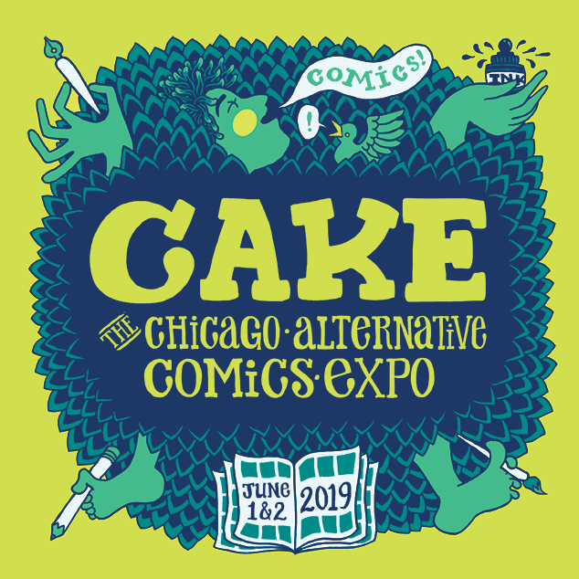 CAKE 2019 Art by Marnie Galloway