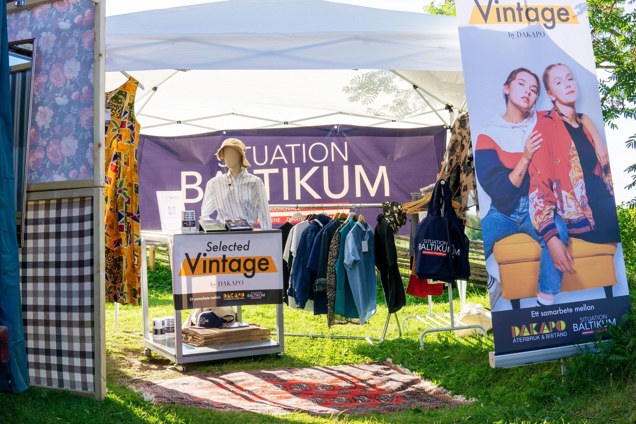 Selected Vintage by Dakapo - Utvald second hand för att locka fler unga att handla återbrukade kläder!