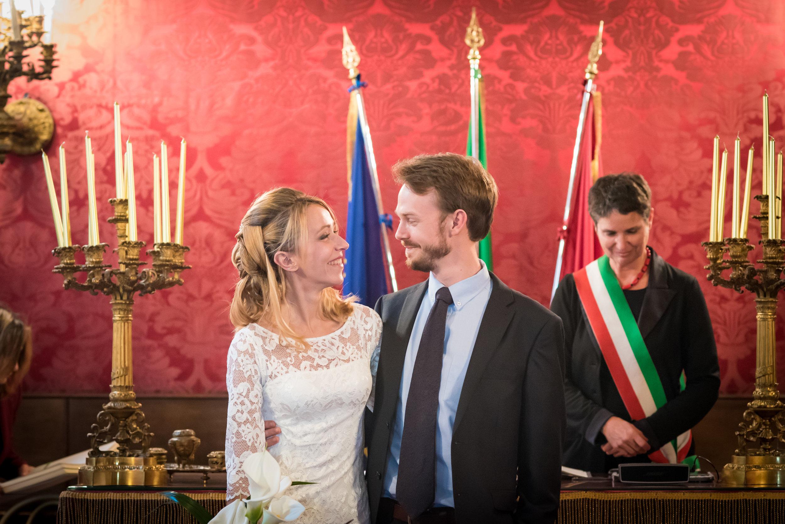 Chiara & Tommaso, Campidoglio, Rome.