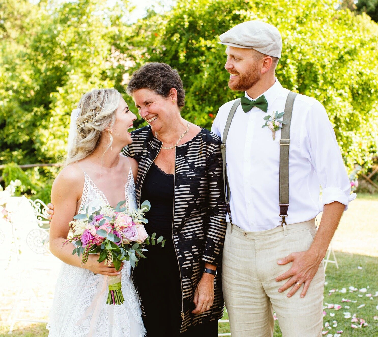 Aim for good chemistry - Delivering a personalised, heartfelt ceremony that feels authentic and meaningful requires a high level of compatibility between you and your celebrant. You should take your time to find who you feel comfortable with and who has the right personality to match yours.