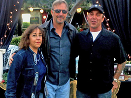 Kevin Costner Moonlight at The Ranch