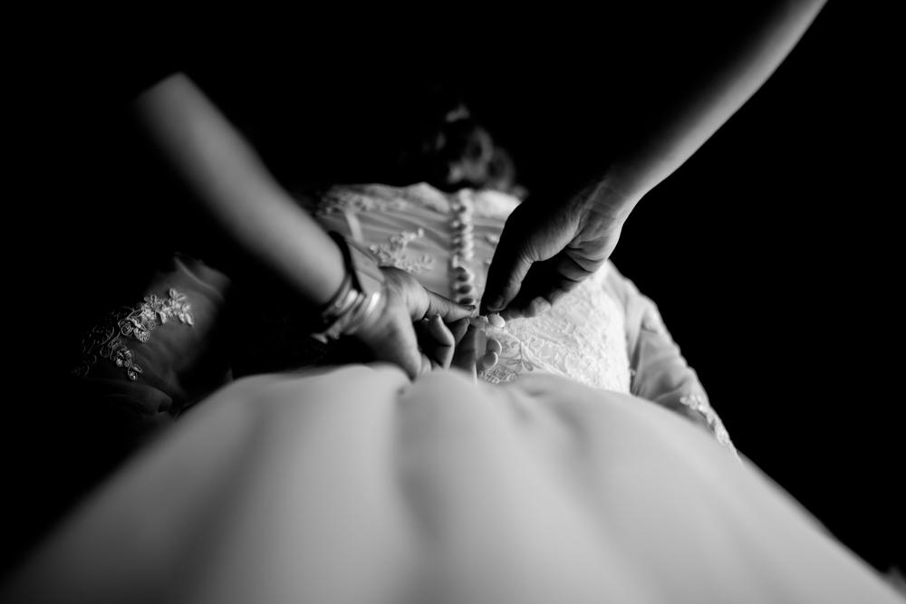 photographe de mariage Genève - robe de mariée