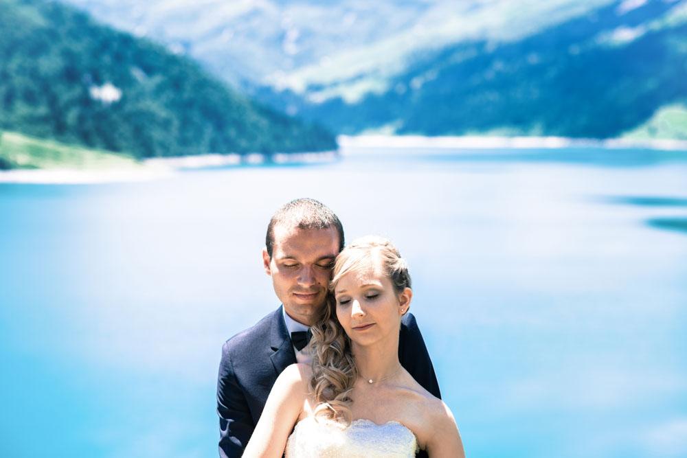 photographe de mariage Albertville - roselend