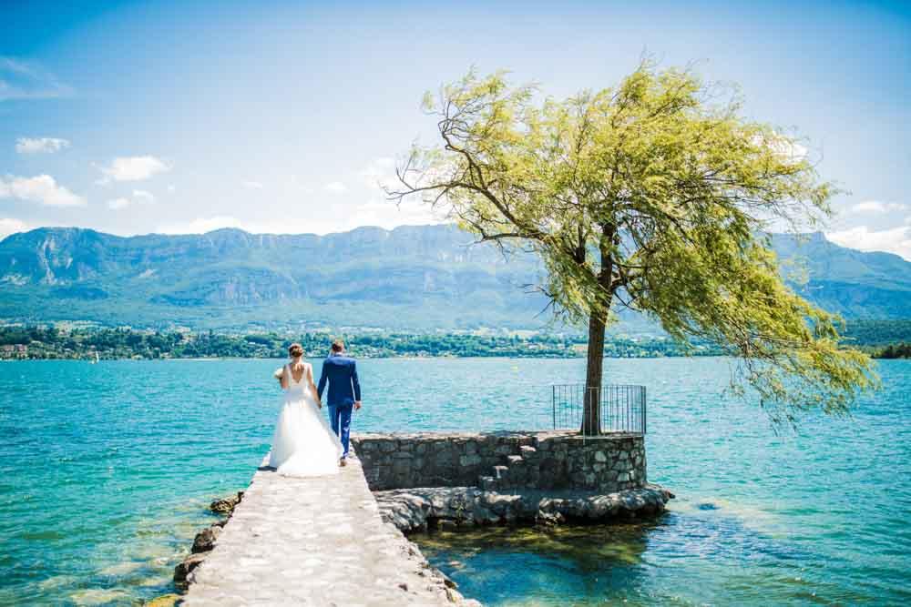 photographe mariage Chambéry - Aix les Bains lac du Bourget -