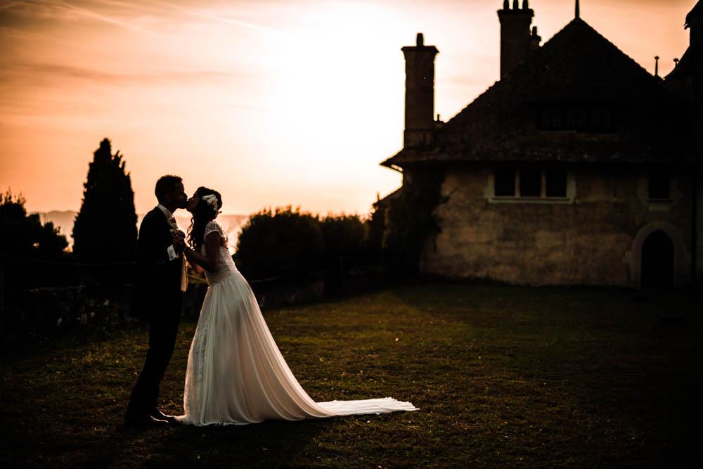photographe mariage Genève - Ripaille - couple