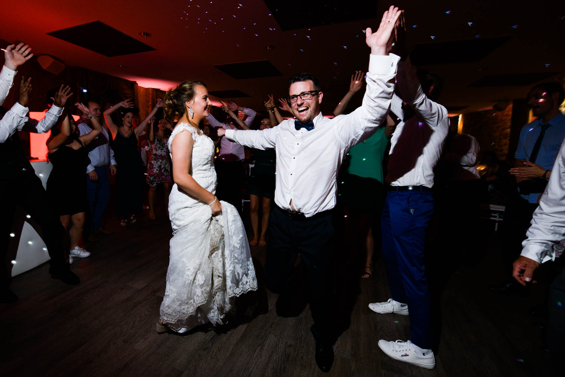 photographe de mariage haut de gamme Chambéry dance floor