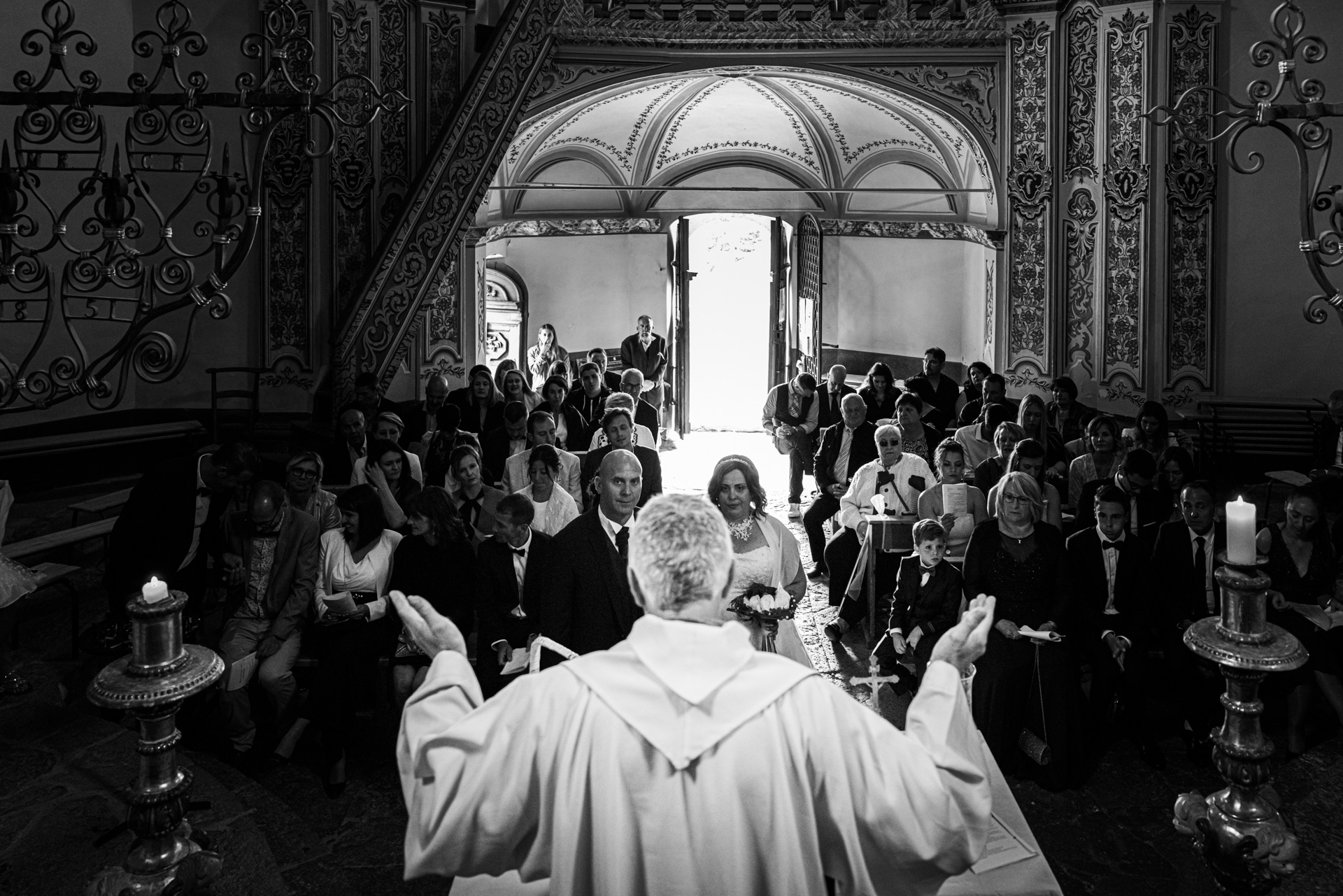photographe mariage Annecy - Eglise