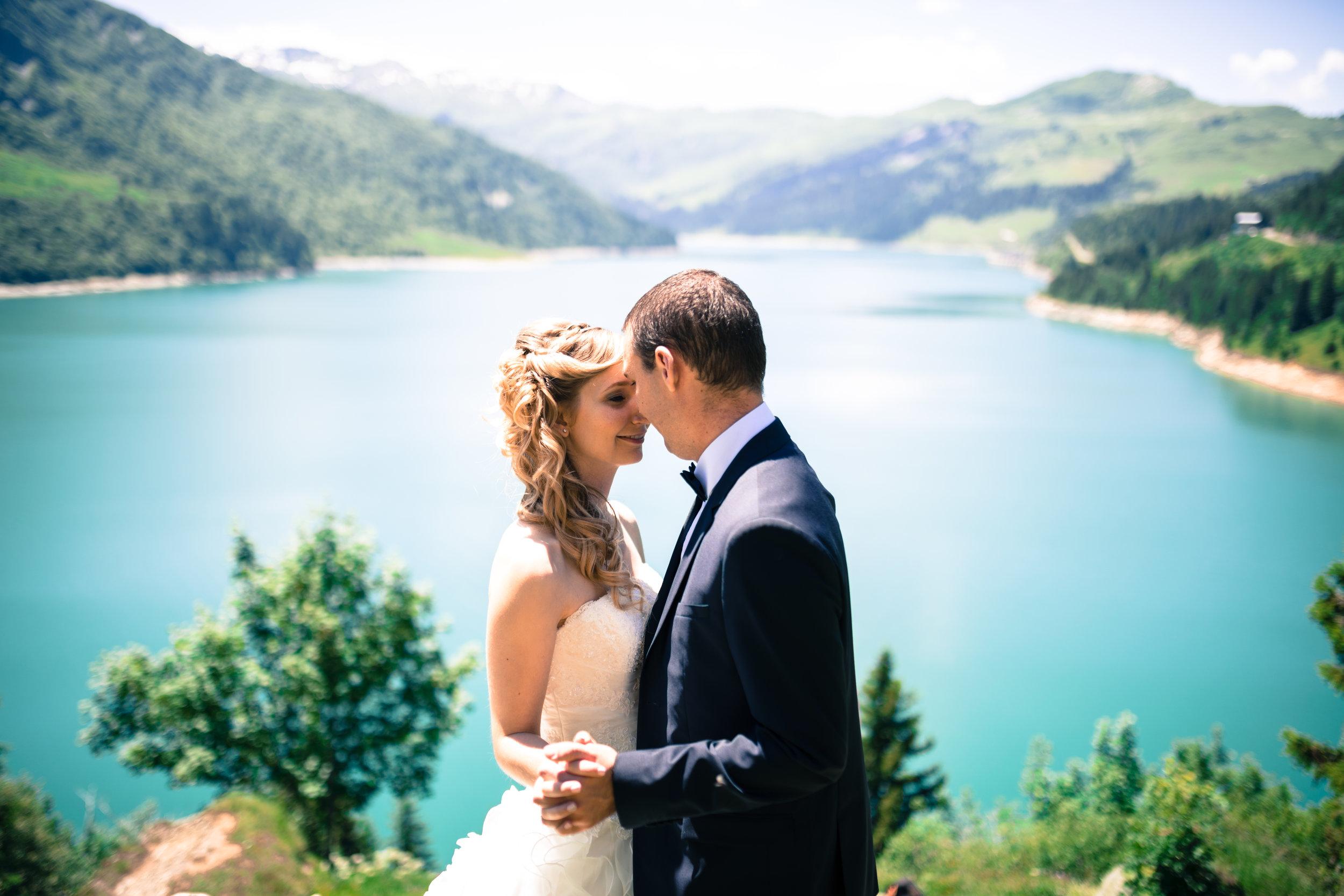 photographe de mariage à la montagne à Megève et le Val d'Arly en Savoie Haute-Savoie