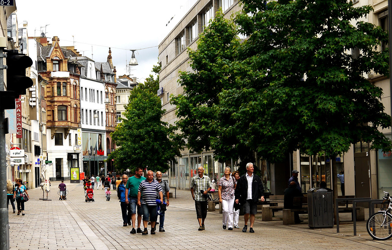 Pedestrian areas increase the liveability of cities around the globe.