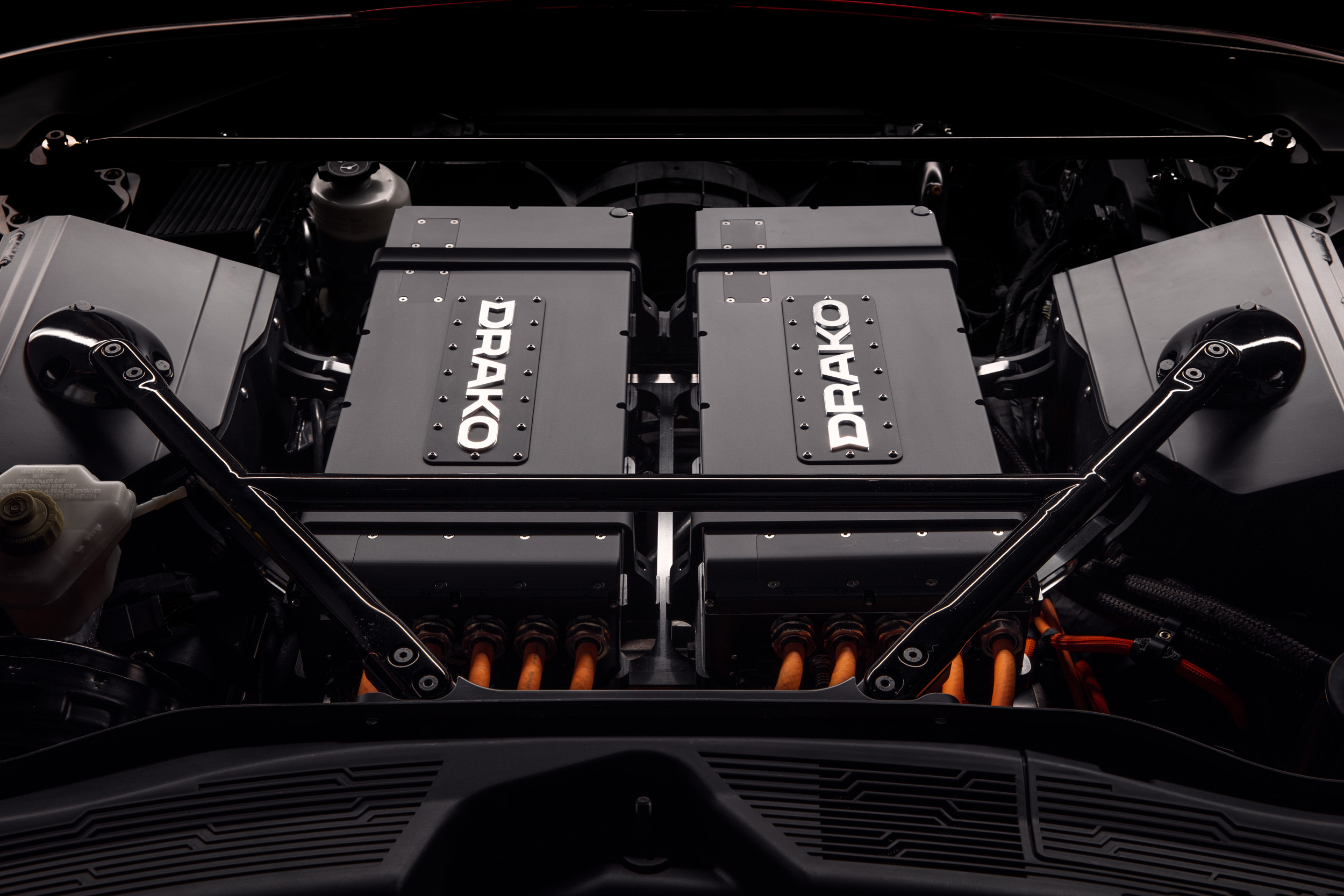All drivetrain components were developed by Drako Motors