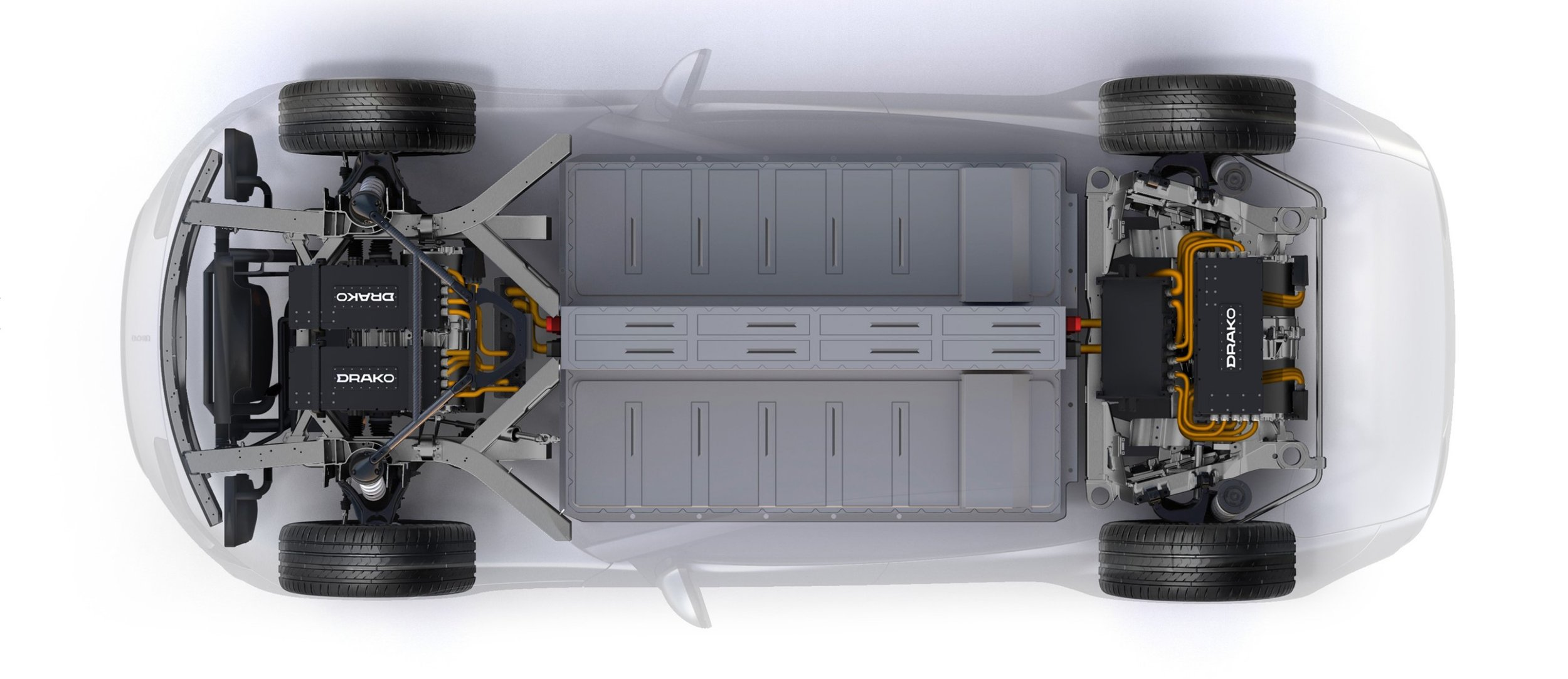 4 electric engines allow unparalleled power and control