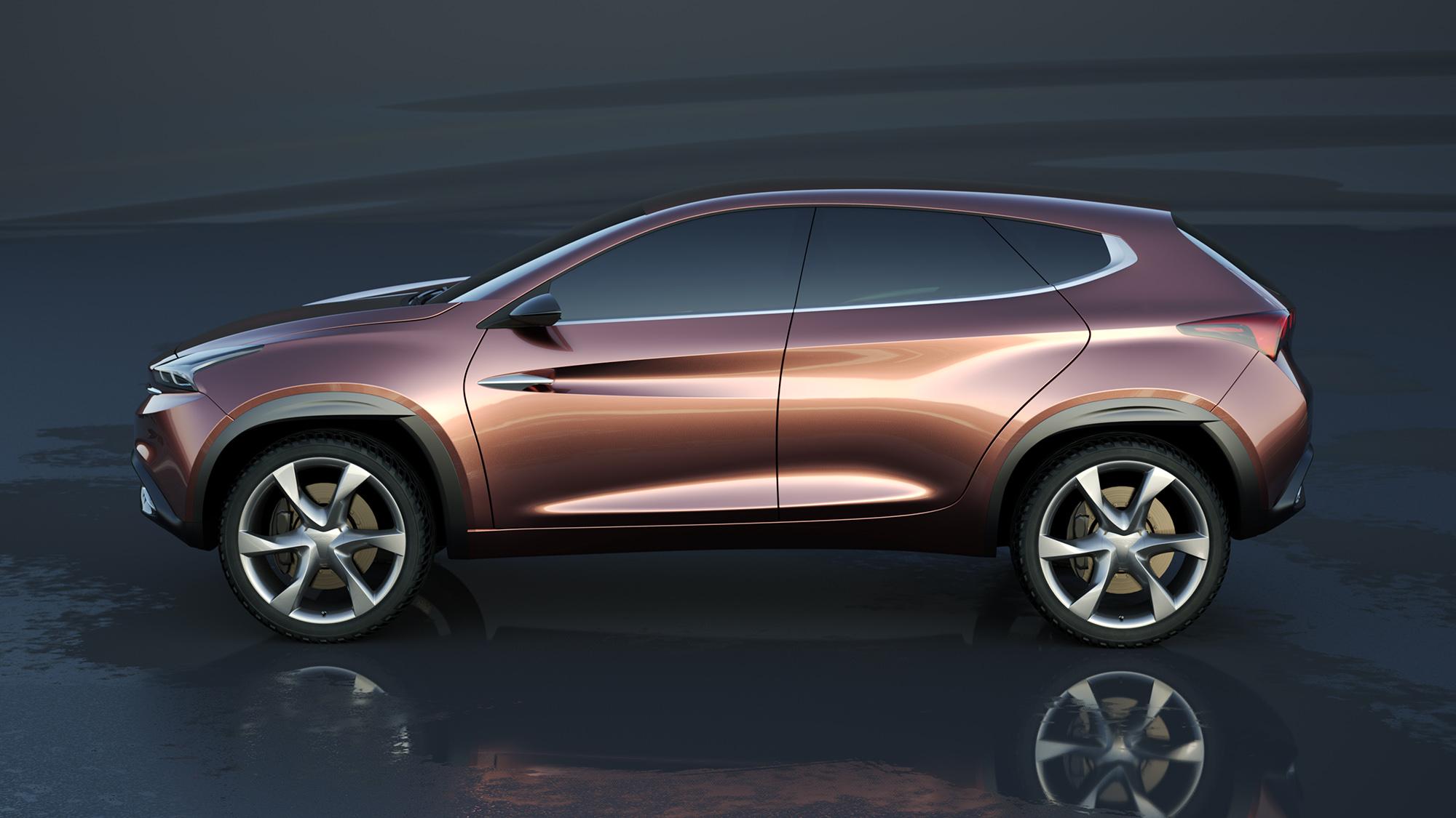 Chery Tiggo - A design for a sportive chinese SUV