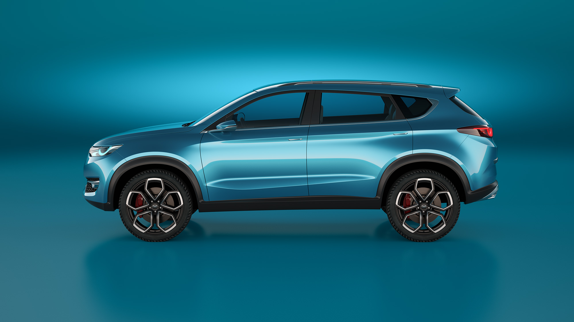 Cowin X3 - More of our work for chinese production cars