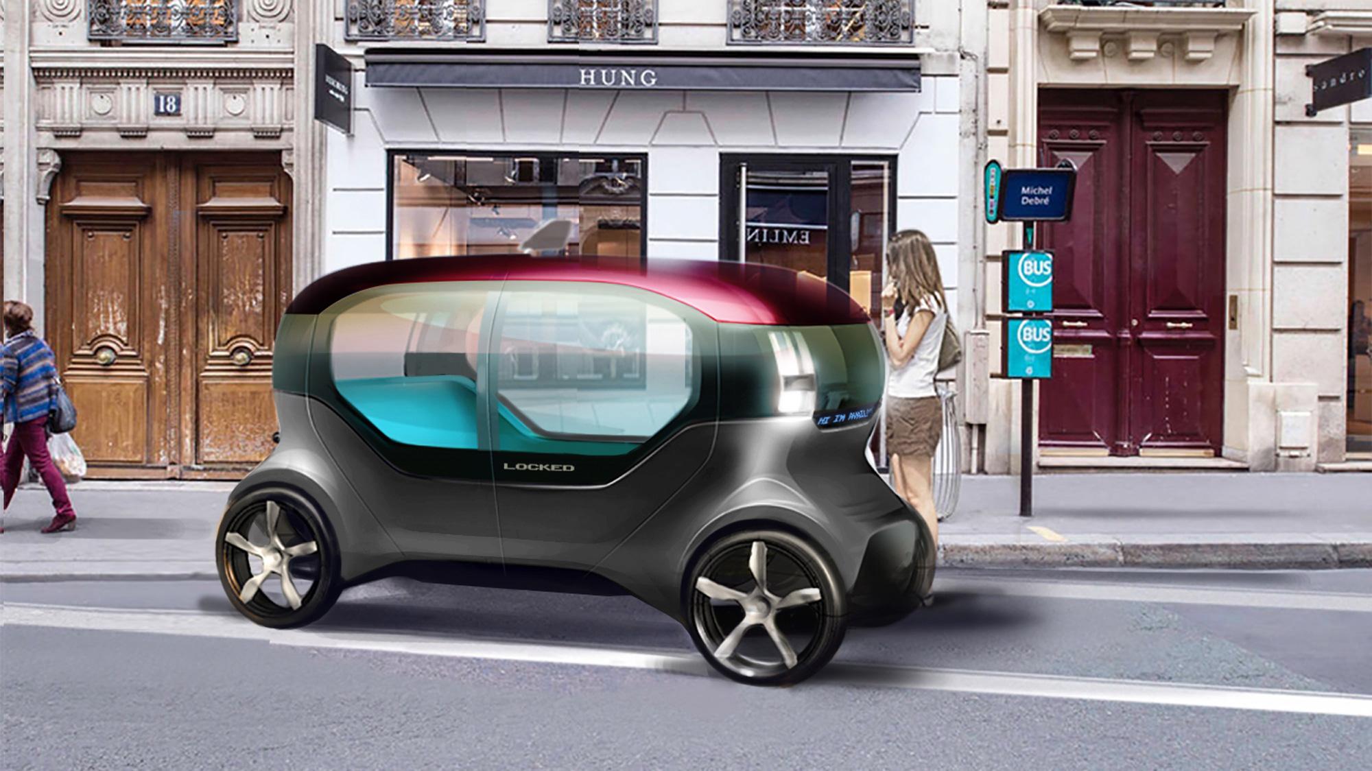 Iugo - A shared inner city vehicle