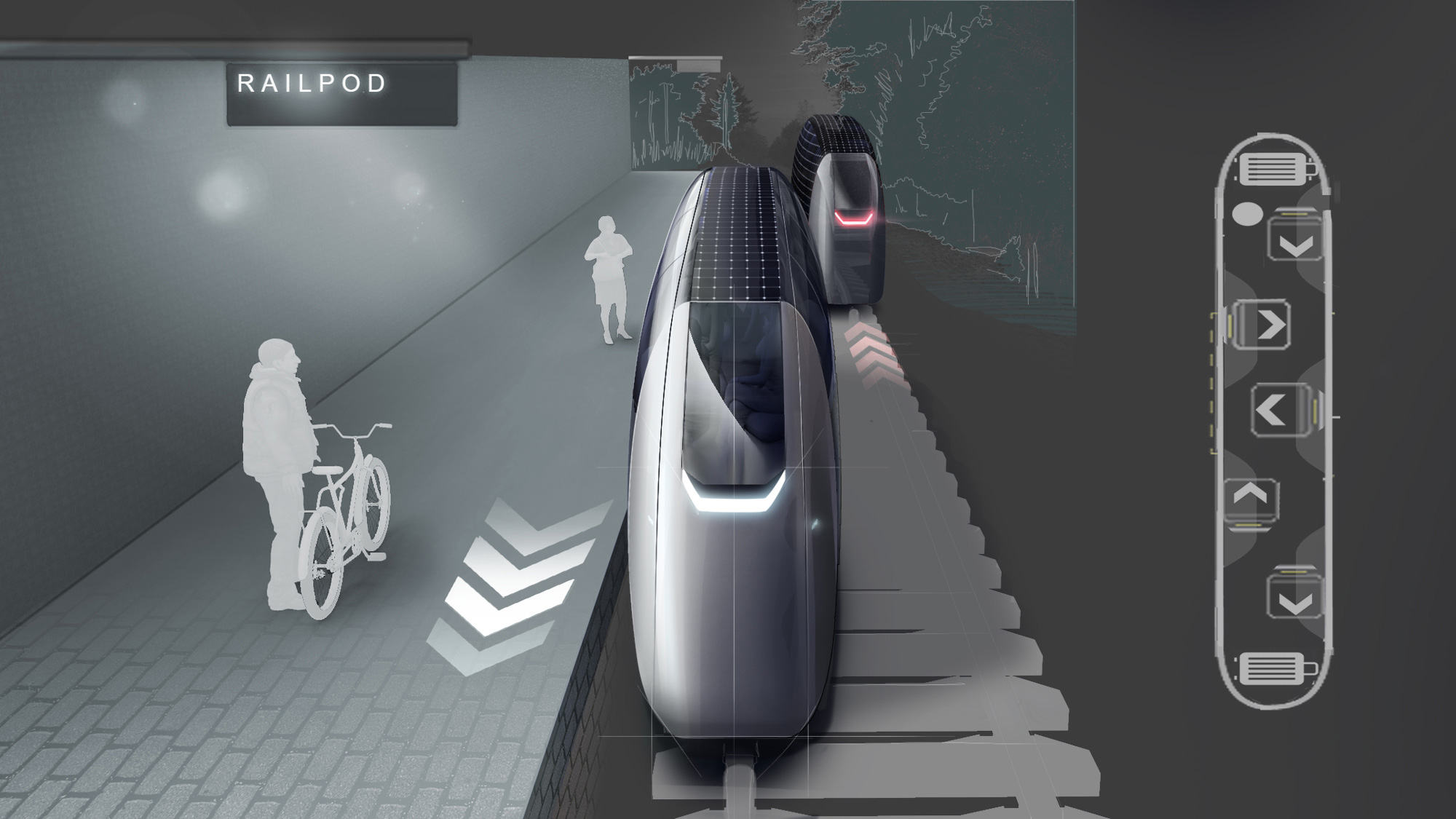 Railpod - More on how multimodal mobility opens up new opportunities