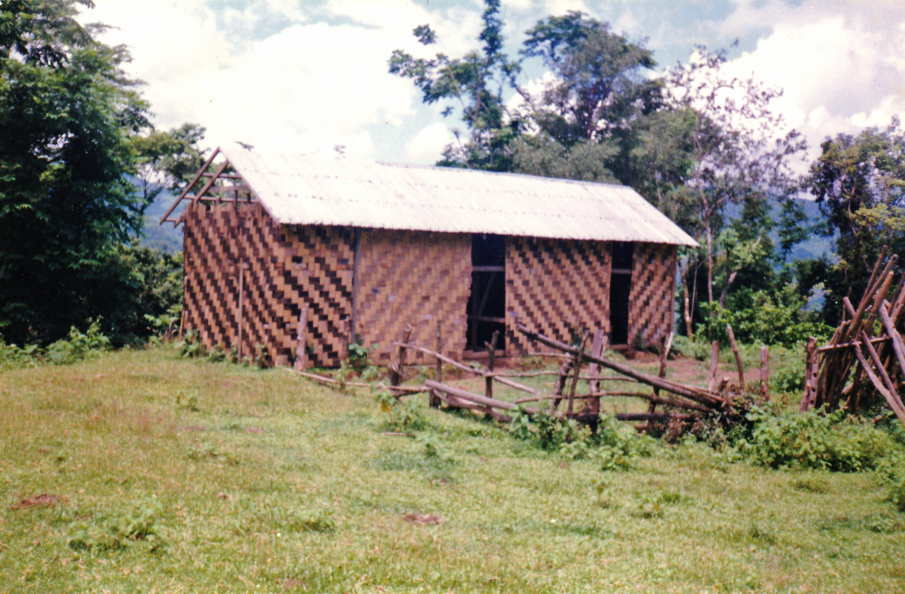 The Mongken school, the only school Lamboi attended whilst growing up.