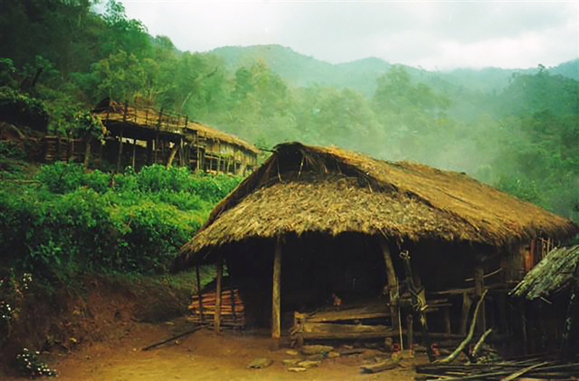 Lamboi's family home in Mongken village.