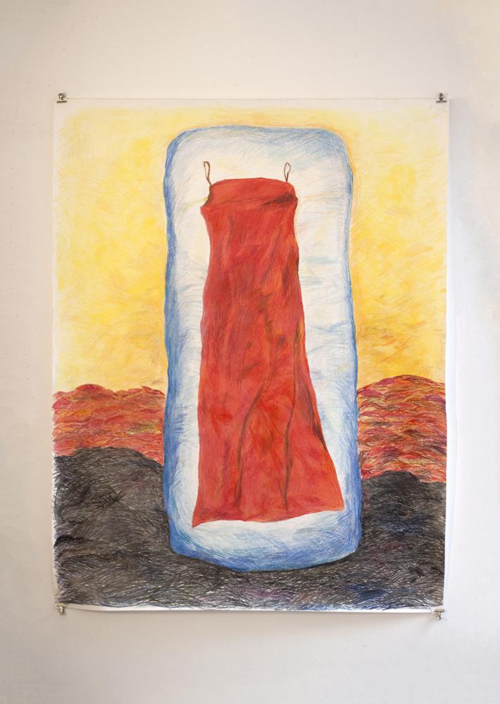 Red Dress in Ice (150cm x 120cm).jpg
