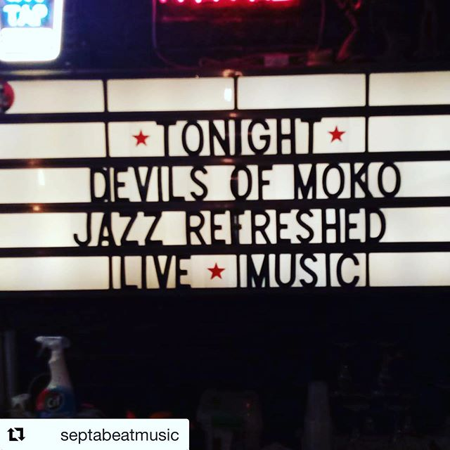 Thank you to everyone who came to see us last night. Big thank you to @jazzrefreshed for having us. We had a blast ....