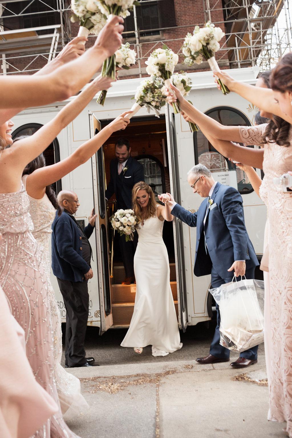 trolley bride off - bridal part w boquets up @divzimedia.jpg