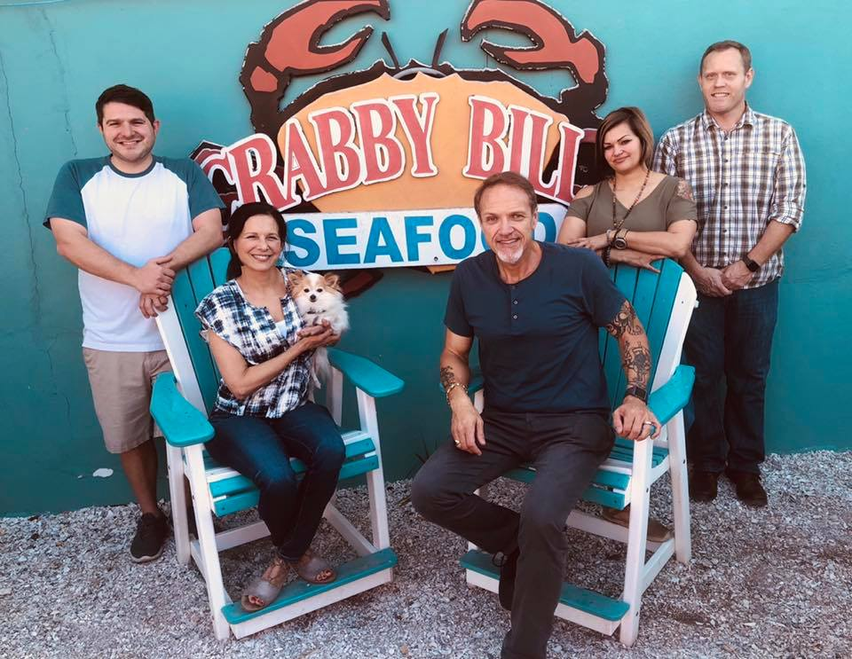 Matt Sr and his family! A man who has poured his heart and soul into his parent's creation and allowed the Crabby Bill's legacy to continue on.