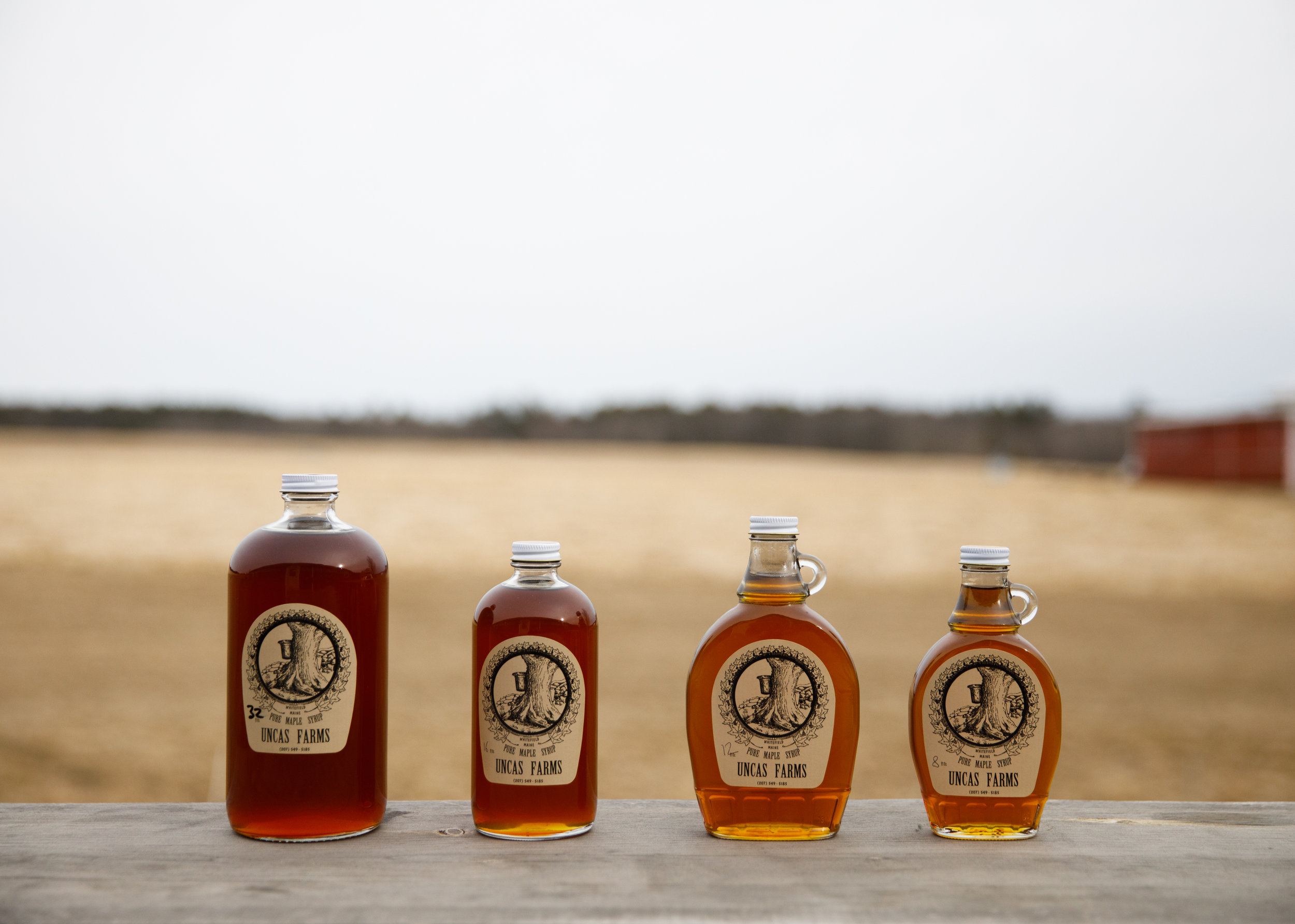CSA members also get up to one quart of our own maple syrup