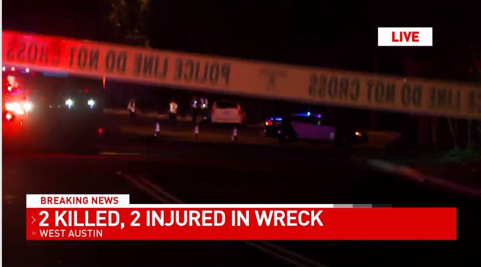 One person dead in crash in west austin.JPG