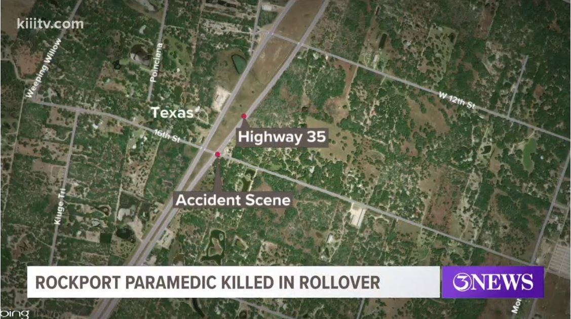 Rockport paramedic killed in rollover accident on Highway 35.JPG