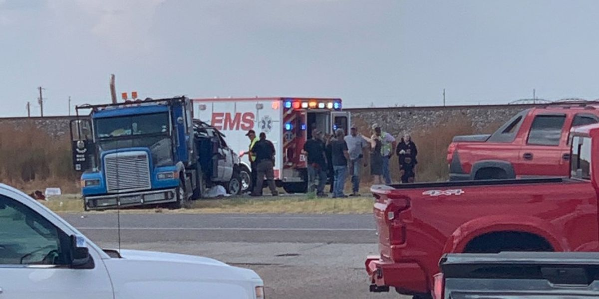 Wreck at Woodrow Rd and Hwy 84