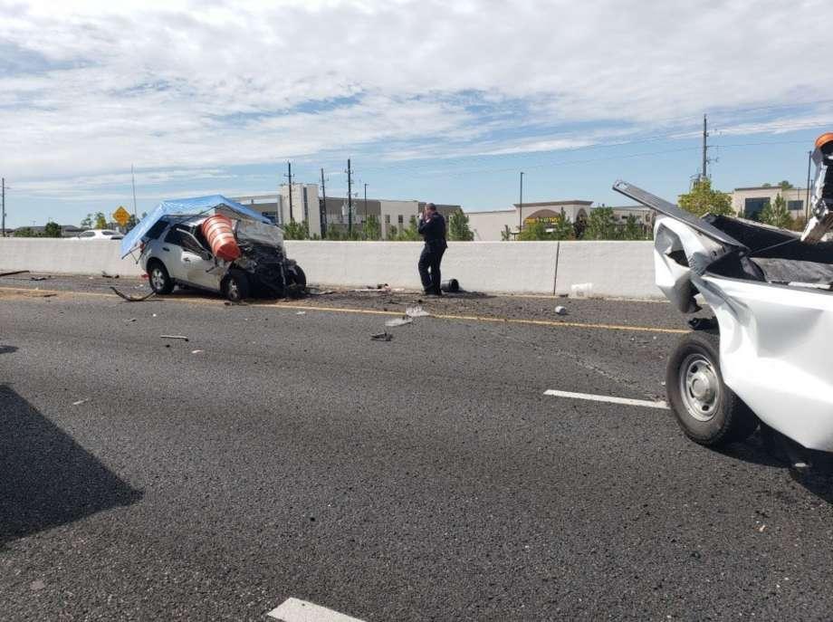 Driver dead in wreck TX Hwy 249.jpg