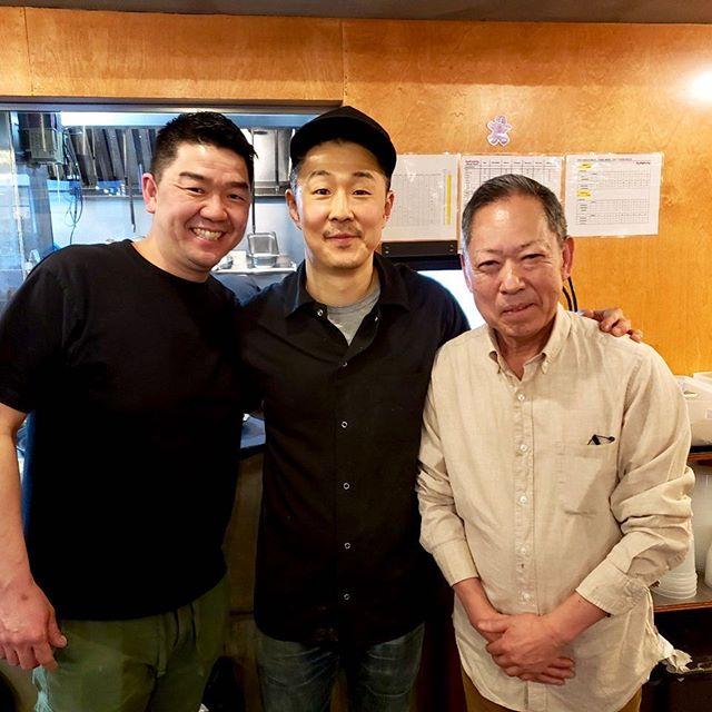 Chef Mike Sim had the honor of serving Chef Ichimura and Chef Mitsuhiro Endo. We love it when Michelin acclaimed chefs dine with us. #baekjeongnyc #meat #kbbq #ktown #usdaprime #ichimura #uchu #okuda #michelinstar