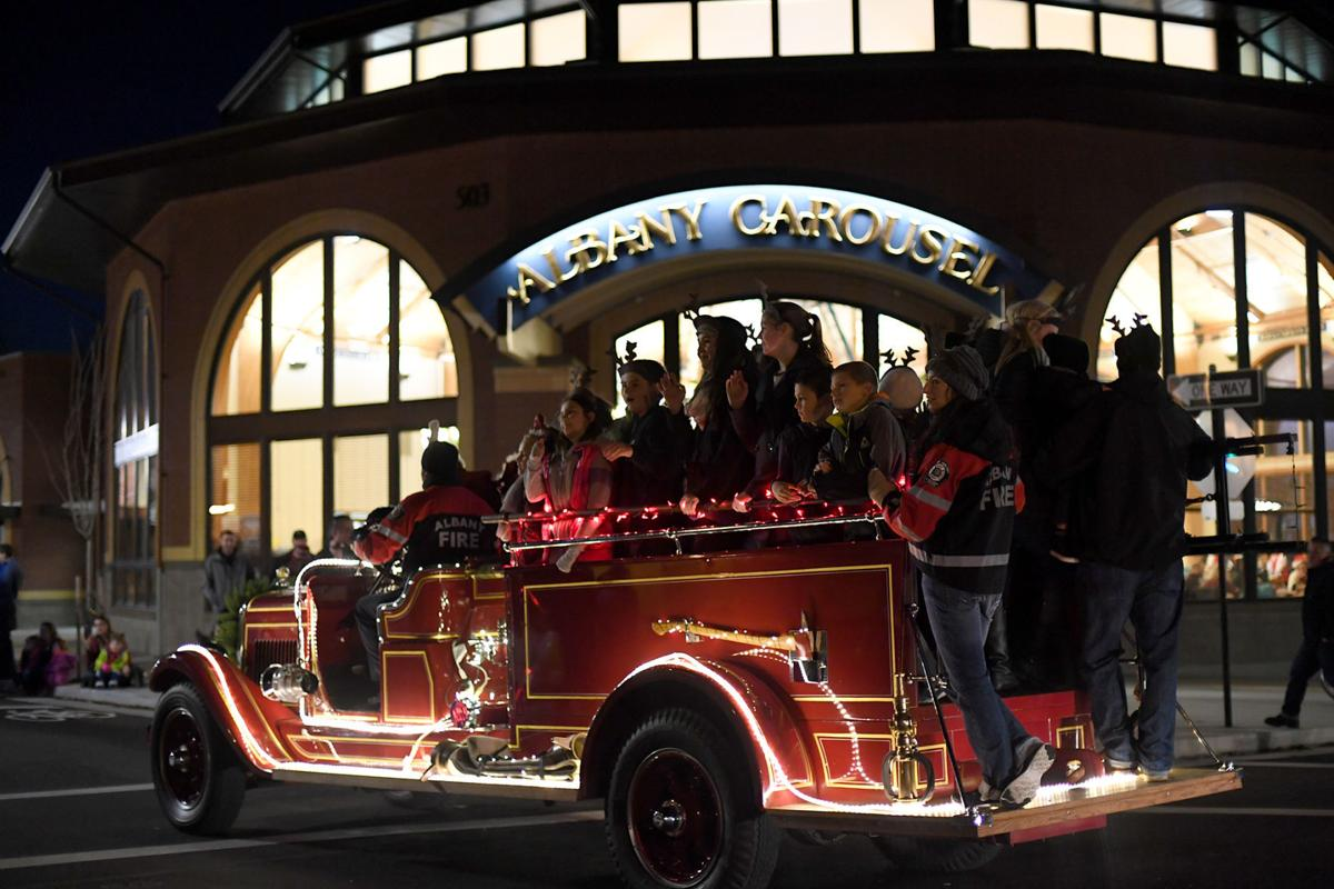Albany Fire Truck passing the Carousel.jpg