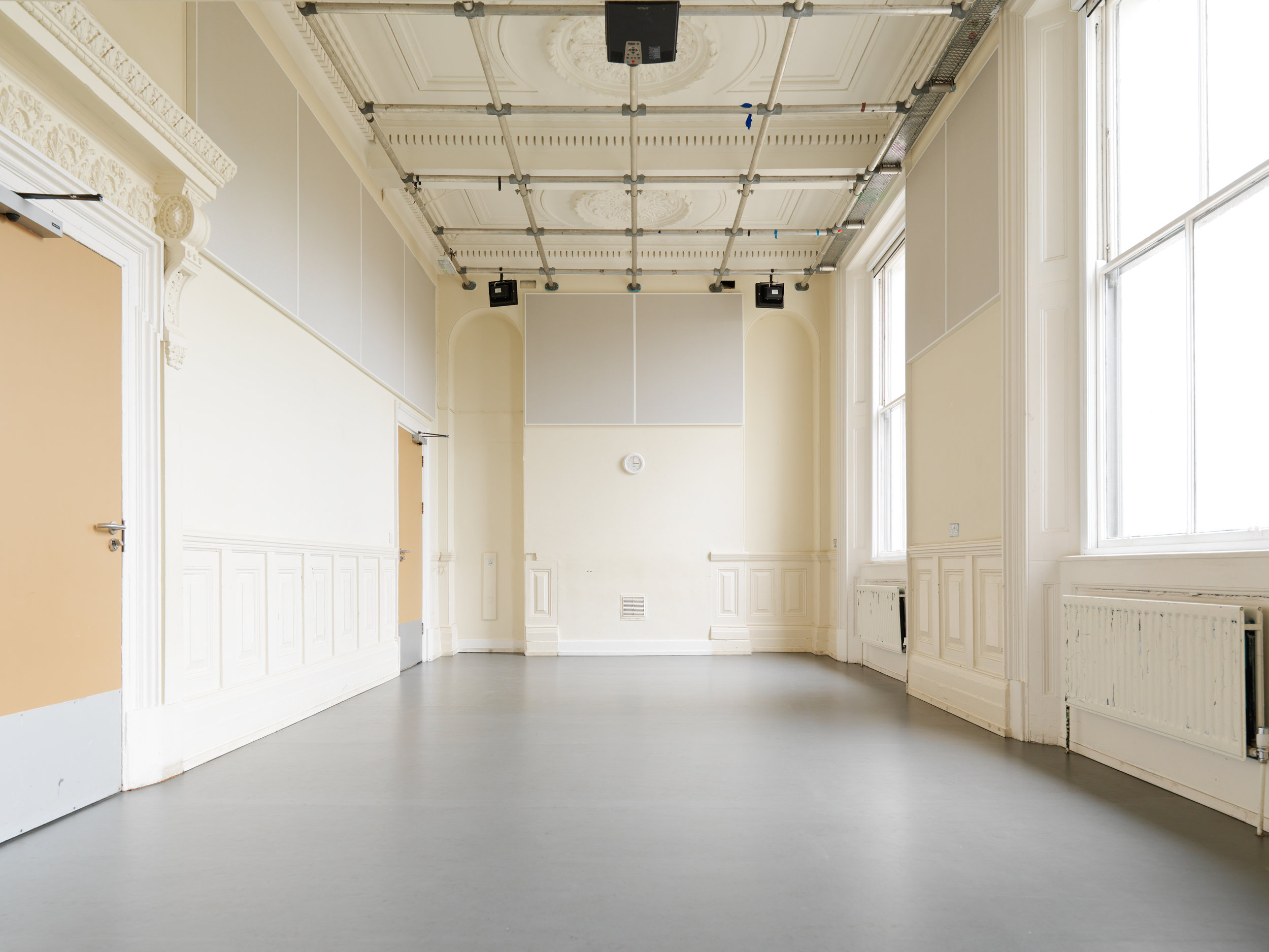 Rehearsal Space in Limehouse, East London (Upper Studio)