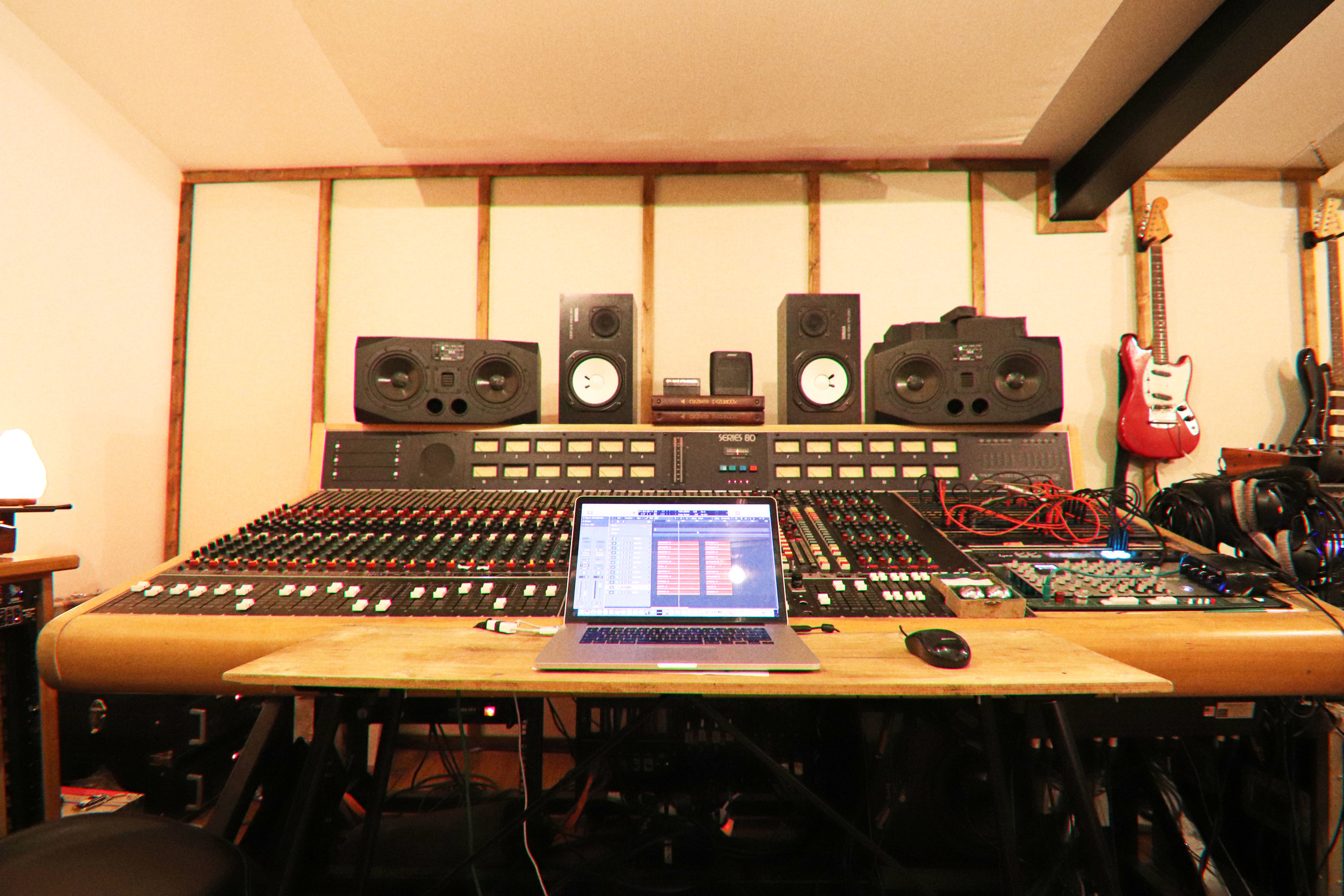 Recording Studio Hire London Fields (Weekends only)