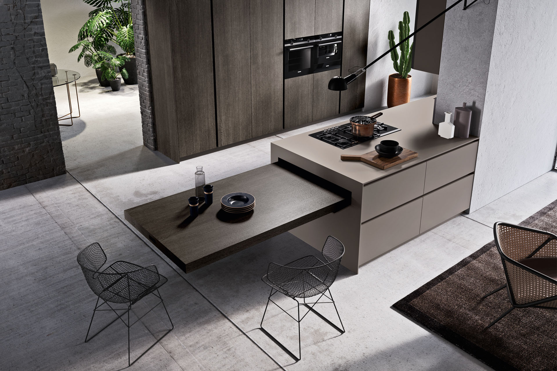 - Then, expect all of that delivered in sleek, curvilinear Italian styling. Pedini style is iconic, an absolute embodiment of clean, modern design. Everything they create is steeped in luxury. They use only the best materials that stand the test of time and connect deeply with each of your senses. The smell and feel of natural wood, the dynamic tones achieved by durable lacquer finishes, the flawless sheen of high-quality tempered glass. Pedini is for perfectionists who care about the details and can't settle for less than the most bold, trendsetting cabinetry on the planet.