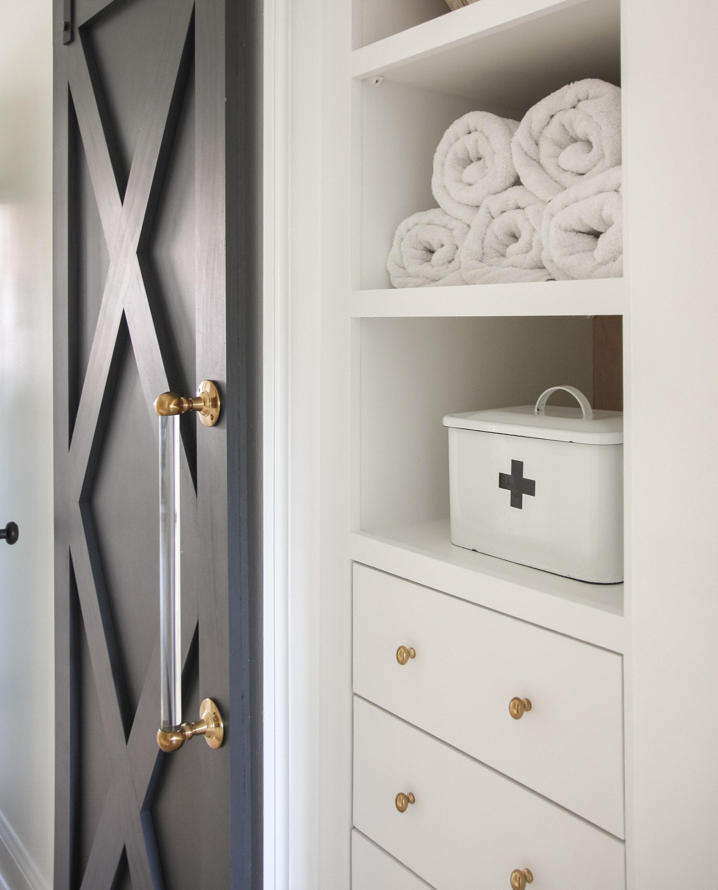 IKEA Pax Hack Linen Closet Reveal — Blushing Boho