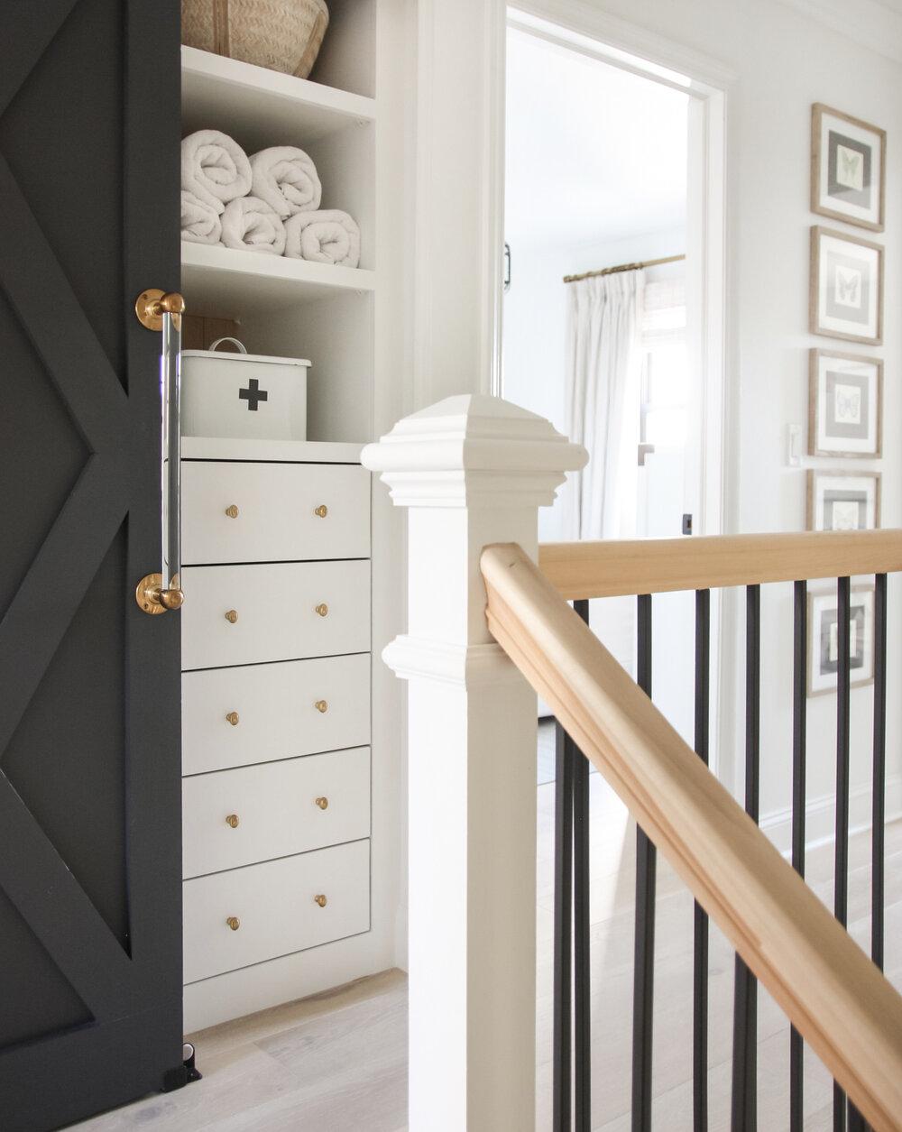 IKEA Pax Hack Linen Closet Tutorial — Blushing Boho