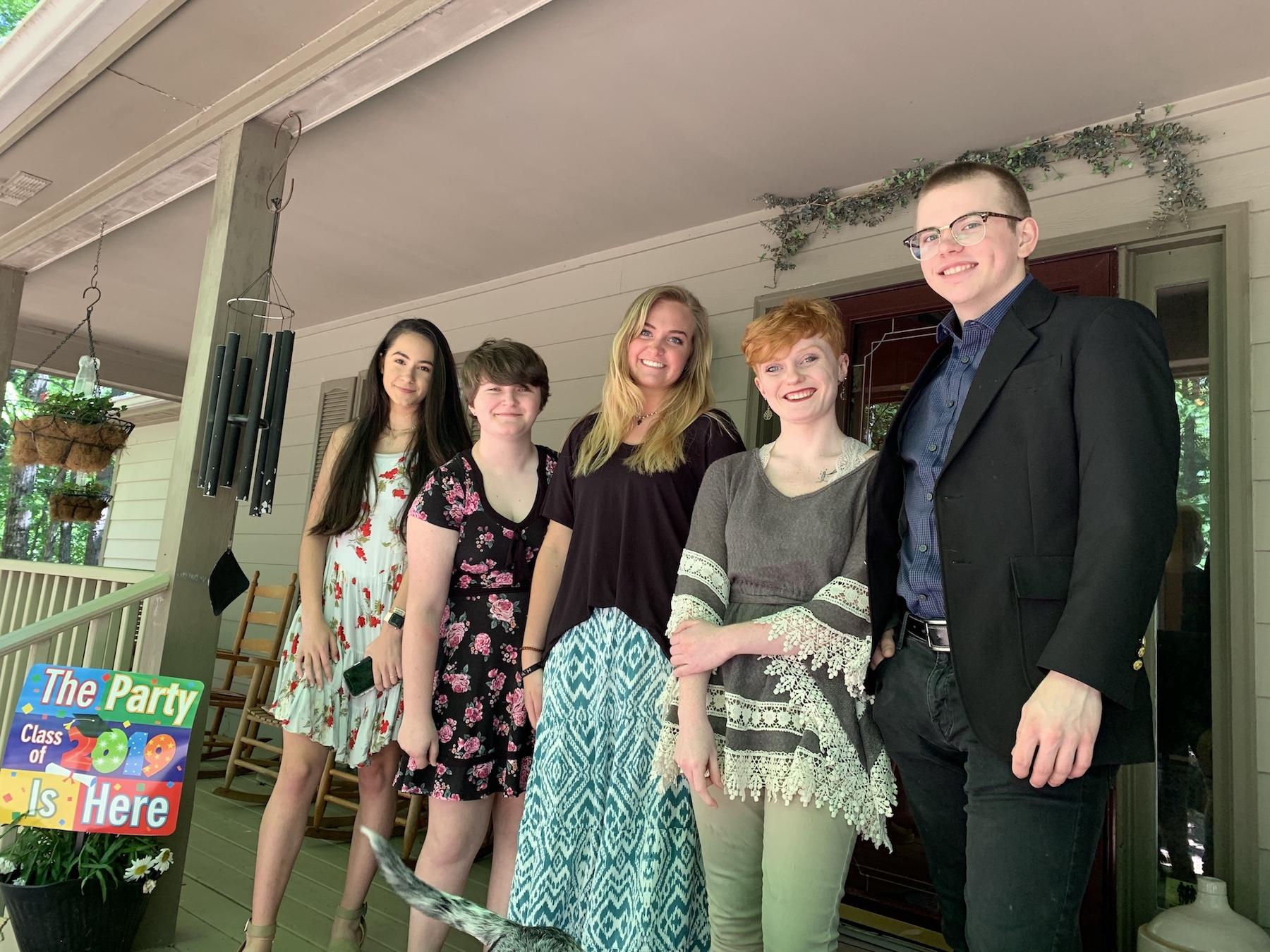 Senior brunch 2019 at Grams' house.
