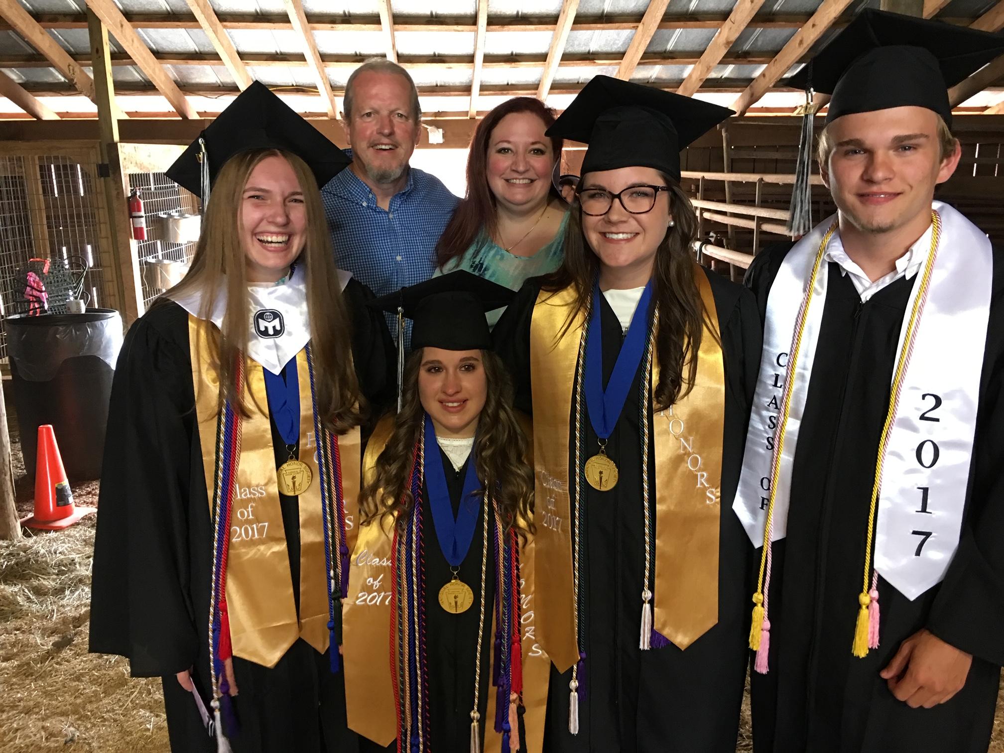 2017 First graduating class from MLA