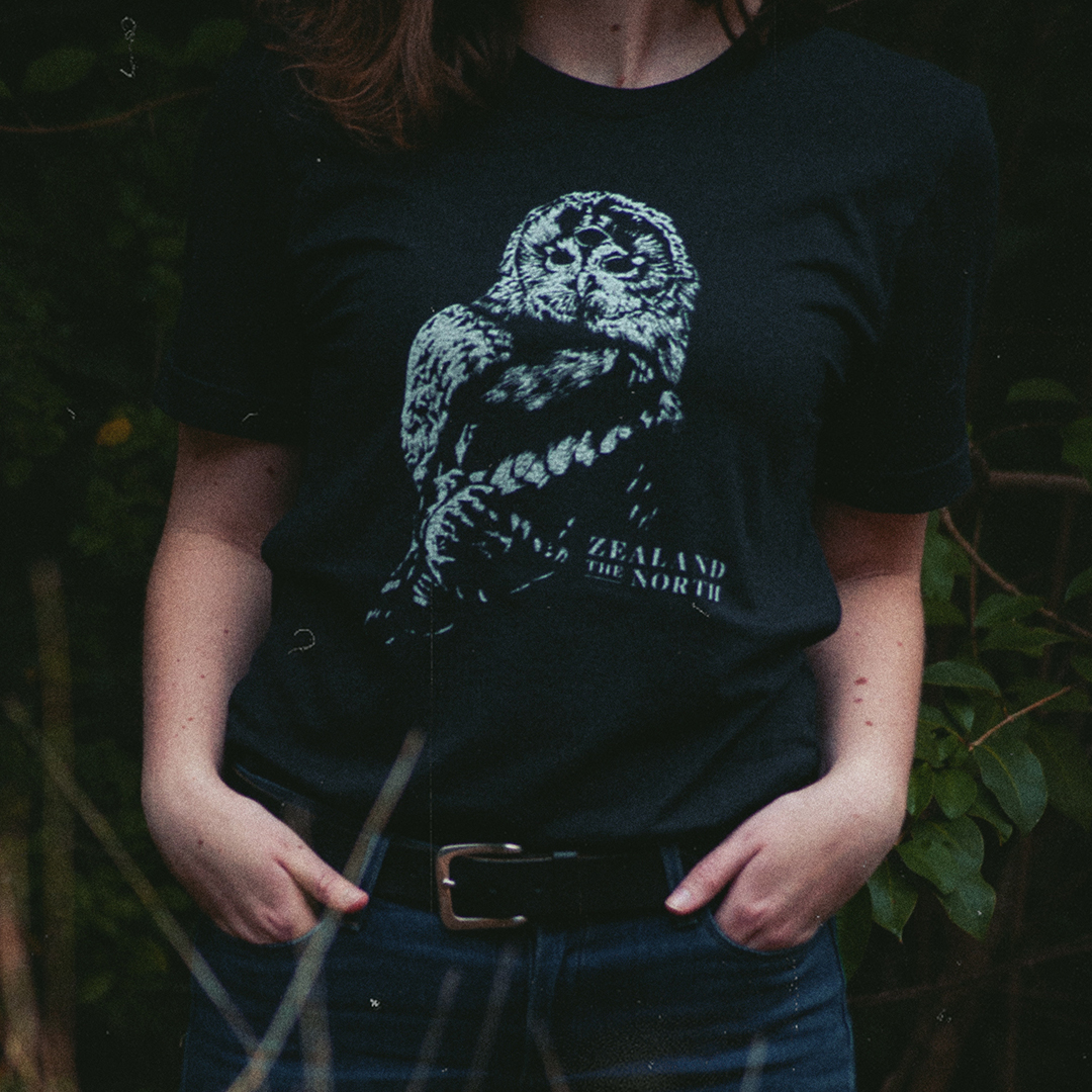 Jennifer Sneary, graphic design, illustration, Zealand the North, post rock musician merch freelance commission