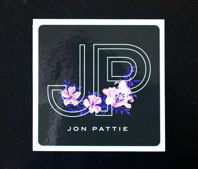 Jennifer Sneary, graphic design, illustration, Jon Pattie musician merch freelance commission